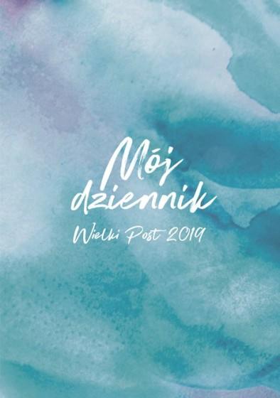 Mój dziennik - Wielki Post 2019 niebieski