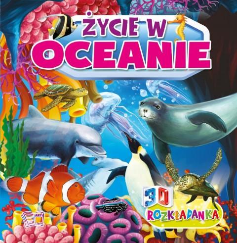 Życie w oceanie rozkładanka 3d
