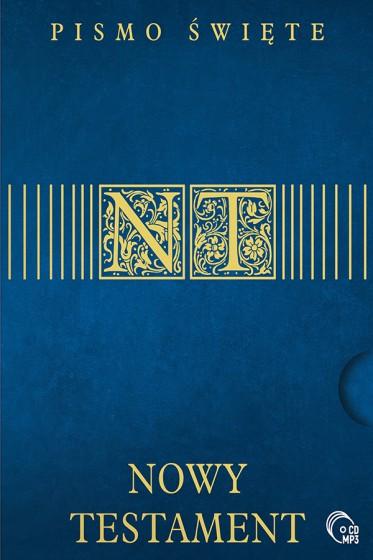 Pismo Święte Nowy Testament MP3/CD