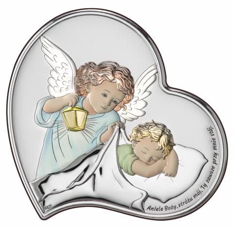 Aniołek z latarenką nad dzieciątkiem Obraz DS18/2C
