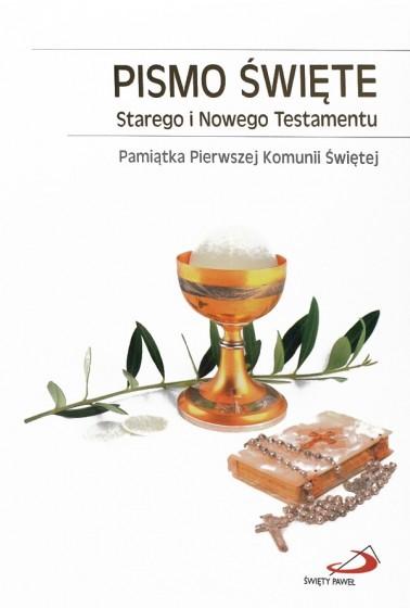 Pismo Święte Starego i Nowego Testamentu I Komunia Św / mały format