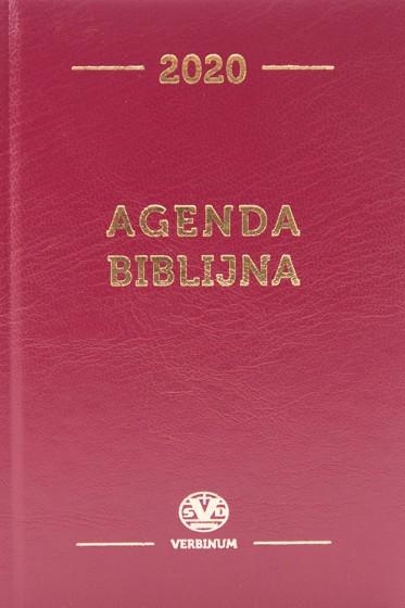 Agenda biblijna 2020 bordo mała