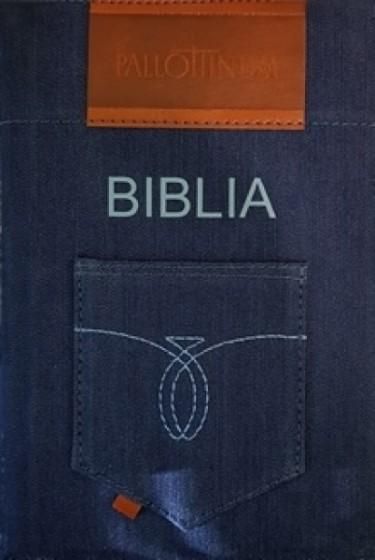 Biblia Pismo Święte Starego i Nowego Testamentu jeans