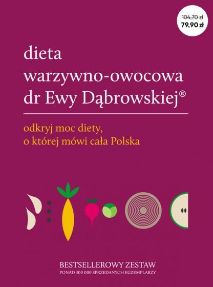 Dieta warzywno-owocowa dr Ewy Dąbrowskiej® - komplet