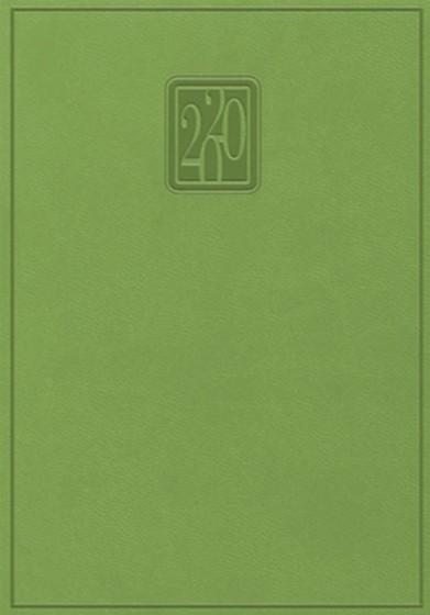 Terminarz B7 Print zielony
