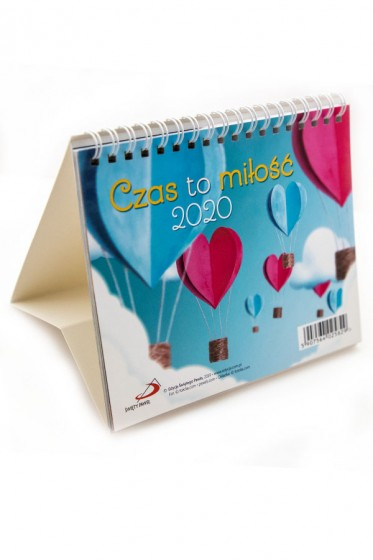 Czas to miłość kalendarz