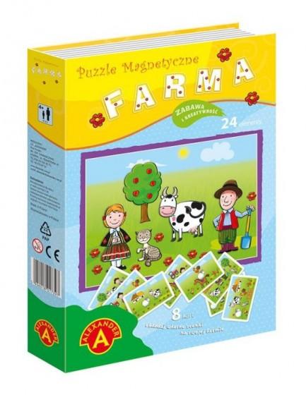 Farma Puzzle magnetyczne