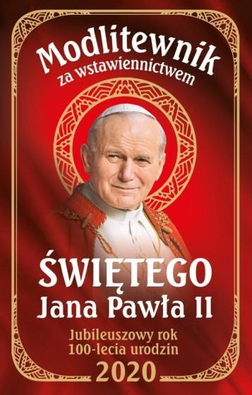 Modlitewnik za wstawiennictwem świętego Jana Pawła II 2020