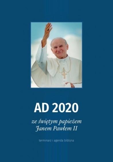 AD 2020 ze świętym papieżem Janem Pawłem II