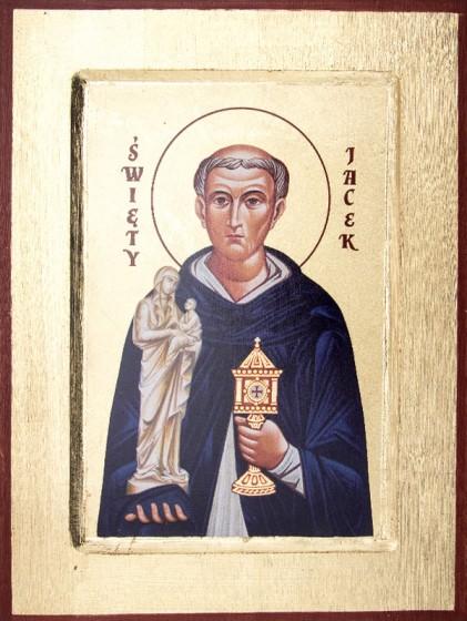 Ikona Święty Jacek mała