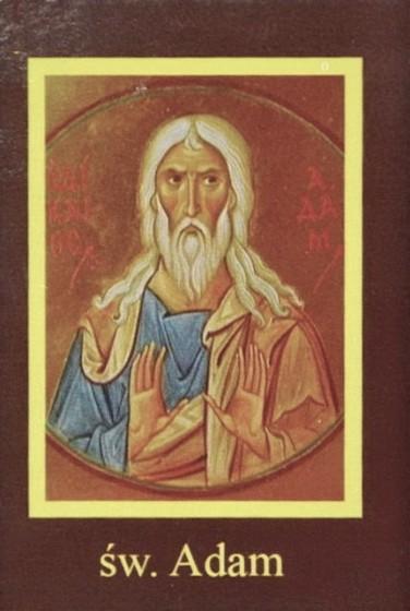 Ikona Twojego Patrona - św. Adam