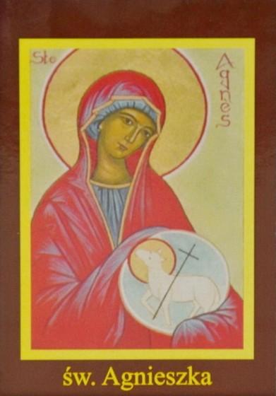 Ikona Twojego Patrona - św. Agnieszka