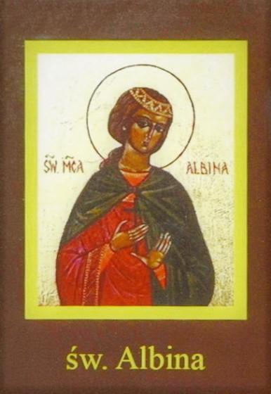 Ikona Twojego Patrona - św. Albina