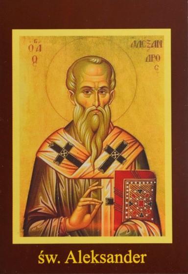 Ikona Twojego Patrona - św. Aleksander