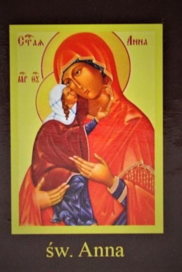 Ikona Twojego Patrona - św. Anna