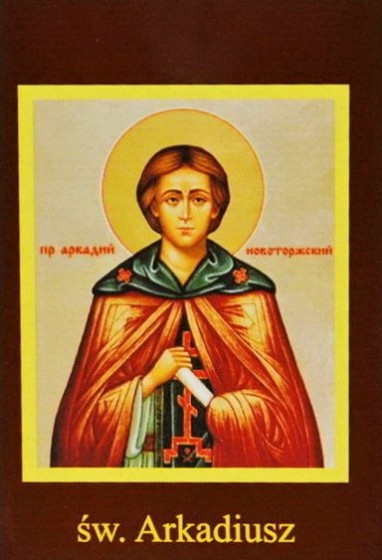 Ikona Twojego Patrona - św. Arkadiusz