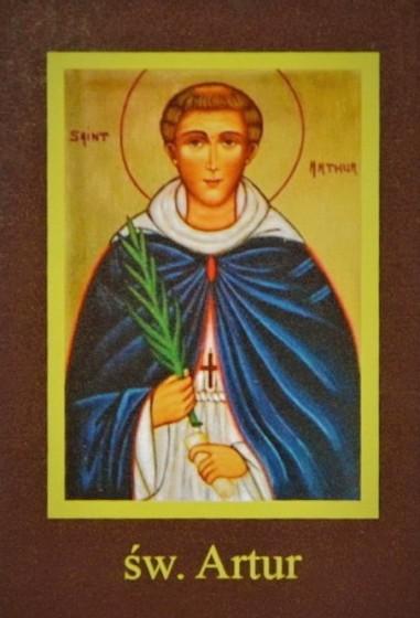 Ikona Twojego Patrona - św. Artur