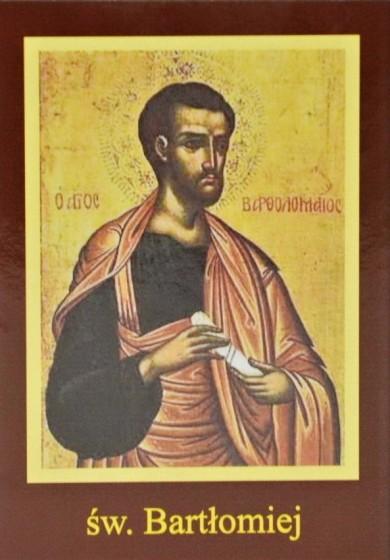 Ikona Twojego Patrona - św. Bartłomiej