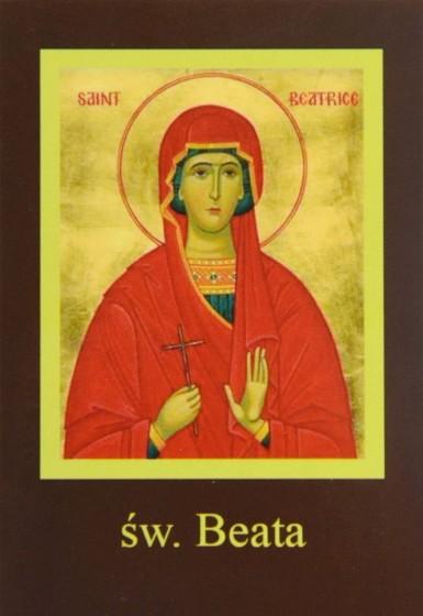 Ikona Twojego Patrona - św. Beata