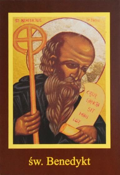 Ikona Twojego Patrona - św. Benedykt