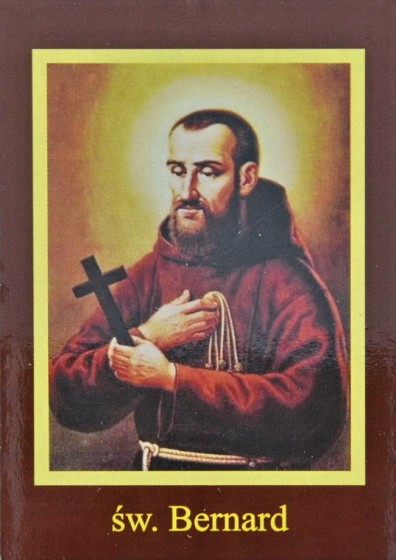 Ikona Twojego Patrona - św. Bernard