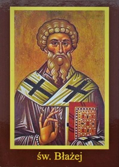 Ikona Twojego Patrona - św. Błażej