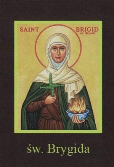 Ikona Twojego Patrona - św. Brygida