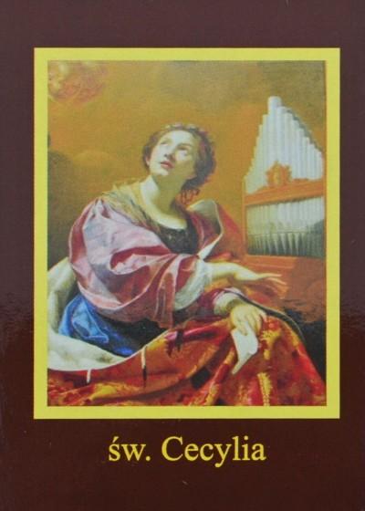 Ikona Twojego Patrona - św. Cecylia