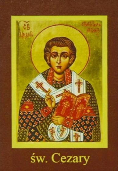 Ikona Twojego Patrona - św. Cezary