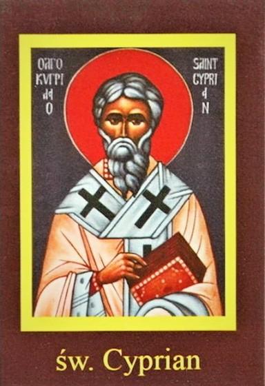 Ikona Twojego Patrona - św. Cyprian