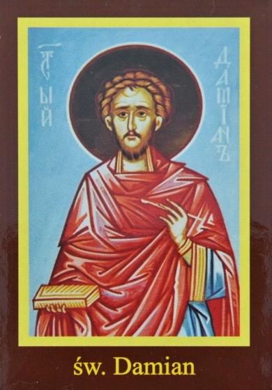 Ikona Twojego Patrona - św. Damian