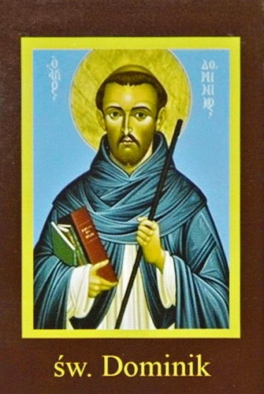 Ikona Twojego Patrona - św. Dominik