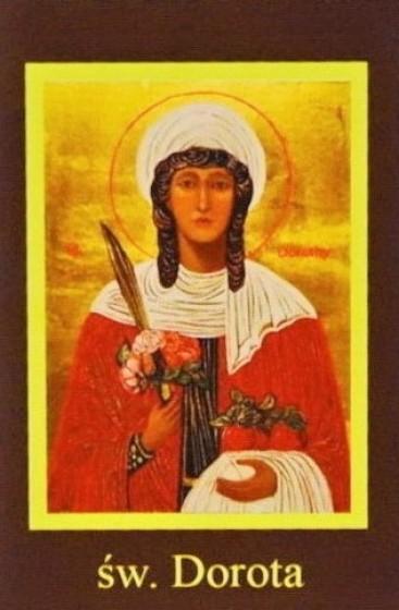 Ikona Twojego Patrona - św. Dorota