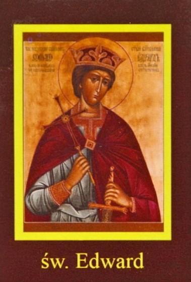 Ikona Twojego Patrona - św. Edward