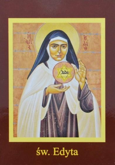 Ikona Twojego Patrona - św. Edyta