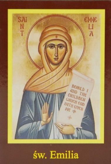Ikona Twojego Patrona - św. Emilia