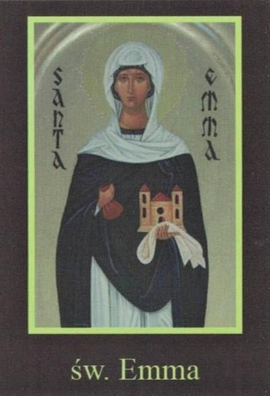 Ikona Twojego Patrona - św. Emma