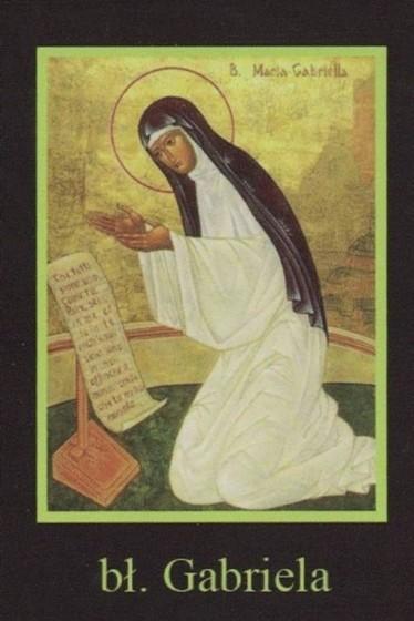 Ikona Twojego Patrona - bł. Gabriela