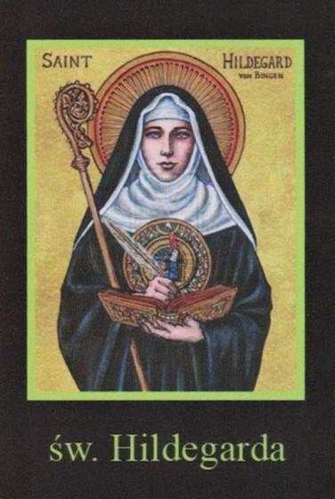 Ikona Twojego Patrona - św. Hildegarda
