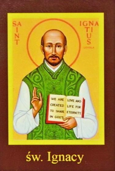 Ikona Twojego Patrona - św. Ignacy