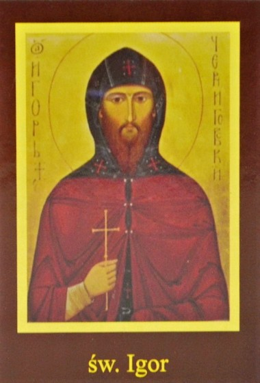 Ikona Twojego Patrona - św. Igor
