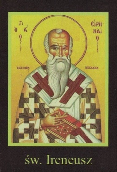 Ikona Twojego Patrona - św. Ireneusz