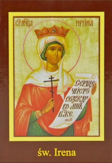 Ikona Twojego Patrona - św. Irena
