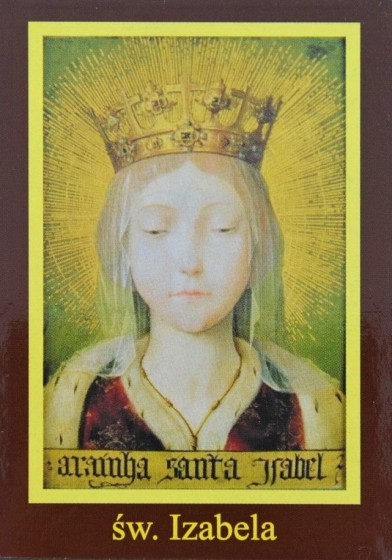 Ikona Twojego Patrona - św. Izabela