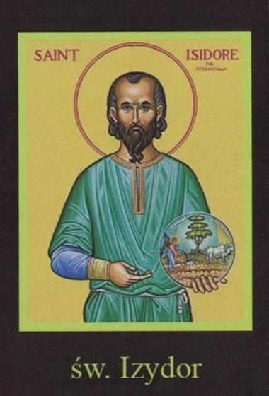 Ikona Twojego Patrona - św. Izydor