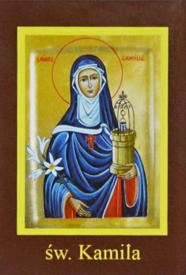 Ikona Twojego Patrona - św. Kamila