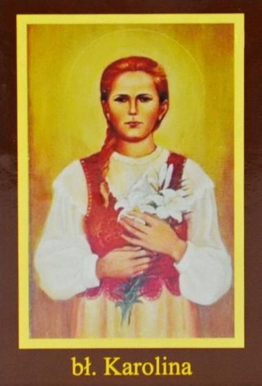 Ikona Twojego Patrona - bł. Karolina Kózkówna