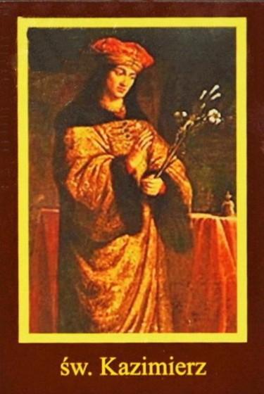 Ikona Twojego Patrona - św. Kazimierz królewicz