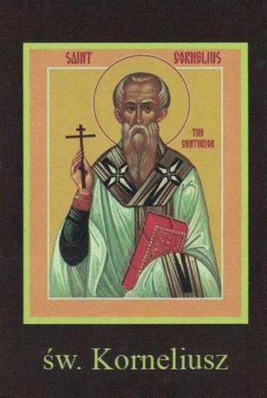 Ikona Twojego Patrona - św. Korneliusz