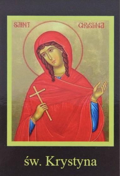 Ikona Twojego Patrona - św. Krystyna